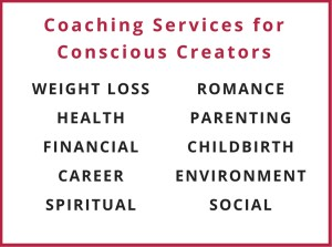 Coaching Services for Conscious Creators